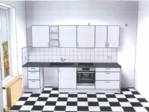 Ansicht Küche