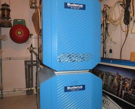 Gaszentralheizung Buderus