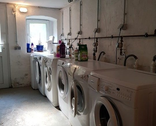 Waschmaschinenanschlussraum