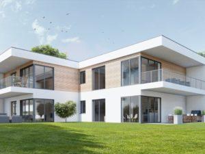 Haus 4 - Außenansicht